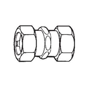 """Cooper Crouse-Hinds CPR23 Rigid Compression Coupling, 1"""", Steel"""