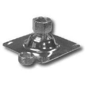 "Cooper Crouse-Hinds TPSFH12 Flexible Fixture Hanger, Type: Ball Swivel, 3/4"" Stem, Metallic"