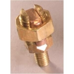 "Penn-Union SSS-3A1 Service Post Connector, Copper, 6 to 3 AWG, 3/8"" Stud"