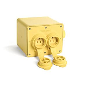 Woodhead 35W47 WPROOF HD PORT OUTLET BOX