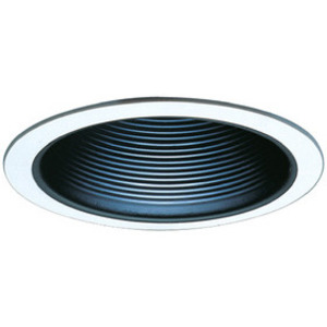 "Elco Lighting ELM30W 6"" Baffle Trim, All White"