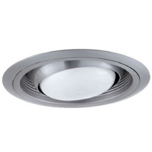 Elco Lighting ELM48W Regressed Eyeball w/ Baffle, All White