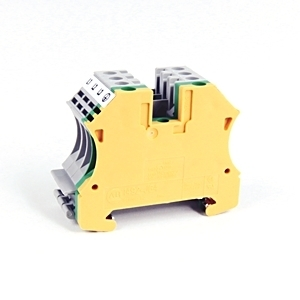 Allen-Bradley 1492-J4M Terminal Block, Motor Connection Cluster, Gray, Green, Yellow