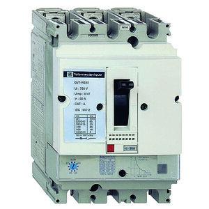 Square D GV7RE80 Manual Motor Control, Breaker, 48 - 80A, 600VAC, 3P, Screw Clamp