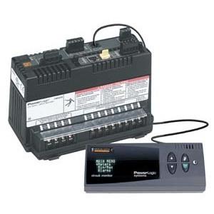 Square D CMDVF Circuit Monitor, PowerLogic, 4 Line, Fluorescent Display, I/R Port