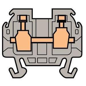 Entrelec 011551016 Miniature Terminal Block, Type: DR 1,5/5