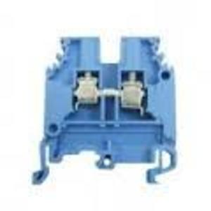 Entrelec 012511601 Terminal Block, Feed Through, 6mm, Type: M 4/6.N, Blue