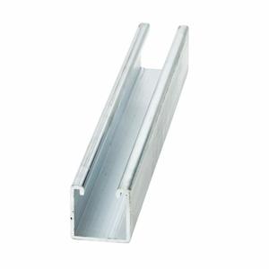 """Cooper B-Line B22-120AL Channel - No Holes, Aluminum, 1-5/8"""" x 1-5/8"""" x 10'"""