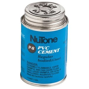 Nutone 379 Central Vacuum Solvent Cement, Clear