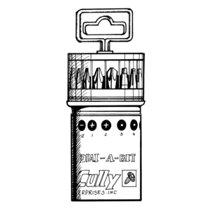 Cully 39917 Dial-a-bit