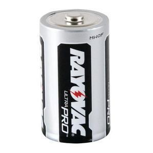 Rayovac ALD-6J D Battery, 1.5V