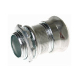 Hubbell-Raco 2906 EMT Compression Connector, Steel, 1-1/2 inch