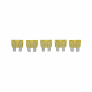 Eaton/Bussmann Series ATC-20 Fuse, 20A, Automotive Blade-Type, Yellow, 32VDC, Type ATC