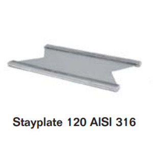 Roxtec ASP0001200021 Stayplate, 120 mm, AISI 316, Stainless Steel