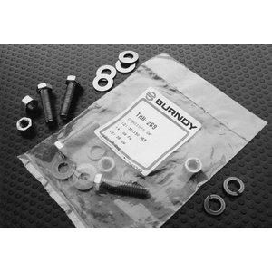 "Burndy TMH272 Hardware Kit, Silicon Bronze, 1/2"" Bolts"