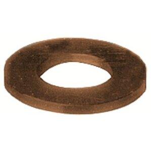 "Burndy 50FWBOX Flat Washer, 1/2"", Silicon Bronze"