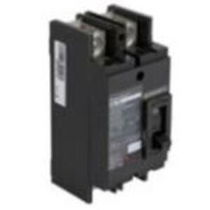 Square D QDP22125TM Breaker, Molded Case, 125A, 2P, 25kAIC, for EZM, Tenant Circuit
