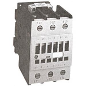GE CL00A310TL Contactor, IEC, 10A, 460V, 3P, 208VAC Coil, 1NO Auxiliary
