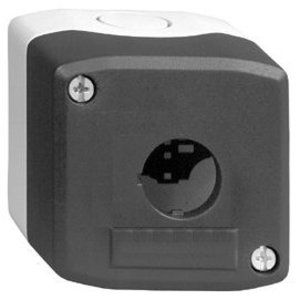 Square D XALD01H7 Push Button Enclosure, 1 Cut-out, for Wireless/Batteryless, Plastic