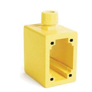 "Woodhead 3065 Portable FS/FD Outlet Box, 4-1/4"" Deep"