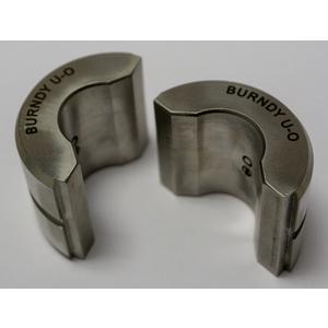 Burndy UO Stainless Steel U Die, Index O