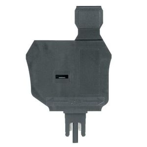 Allen-Bradley 1492-DPL Terminal Block, Fuse Plug, Disconnect, Gray