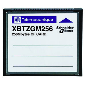 Square D XBTZGM128 Operator Interface, Memory Card, Flash, 128Mb