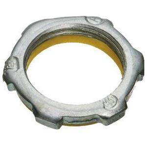 """Appleton BLSG-50 Sealing Locknut, Size: 1/2"""", PVC Gasketed, Steel/Zinc"""
