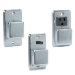 "Eaton/Bussmann Series SSY-RL Plug Fuse, Cover Unit, Fusetron, 4"" Square, Switch, Light"