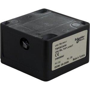 Square D TSXSCA50 Junction Box, Passive Tap, 3 Screw Terminals, RC Line Terminator