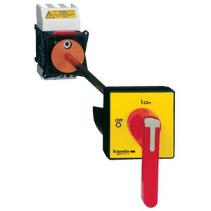Square D VCCF5 Switch-disconnector VCCF - 3 poles - 690 V 125, A - padlockable long red handle