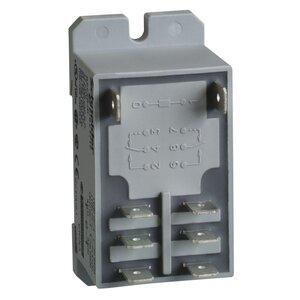 Square D RPF2BF7 Relay, Plug In, Power, 30A, 2P, NC, 24VAC Coil, DIN Rail Mount