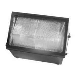 Hubbell-Outdoor Lighting WGH-400P Wallpack, Glass Refractor, 400ps 120-277
