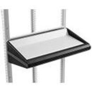 Hoffman PKBS6 Keyboard Shelf, Fits 600mm, Material/Finish: Steel/Gray