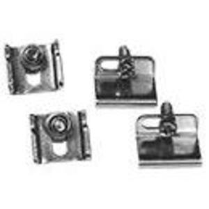 Hoffman AL17 Replacement Clamp Kit For Hoffman A51 Junction Boxes, Material/Finish: Steel/Zinc
