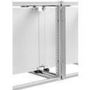 "Hoffman PJP20 Joining Subpanel, Size: 74.21 x 72.75"", Material/Finish: Steel/White"