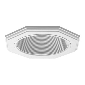 Juno Lighting 9024-WWH 6IN TRIM OCTAGONAL BAF