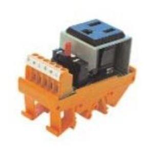 Weidmuller 9915480001 Rack/Cabinet, AC Outlet Module, 5A, 120VAC, w/Breaker, 5-15R