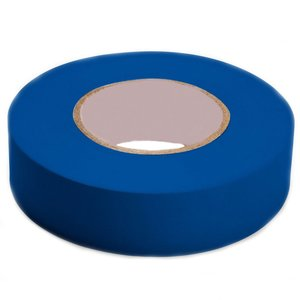 "3M 1400C-BLUE Vinyl Electrical Tape, Blue, 3/4"" x 66'"