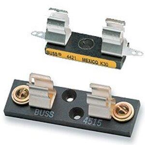 "Eaton/Bussmann Series 4515 1-Pole Fuse Block for 13/32"" x 1-1/2"" Fuses, 1-Pole, 30A, 250V"
