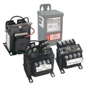 Hammond Power Solutions PH75QR Transformer, Control, 75VA, Group D, 240x480 - 24VAC, 1PH