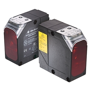 Allen-Bradley 45CPD-8LTB1-D5 Sensor, Photoelectric, Laser, Analog/Discrete Output, 18 - 30VDC