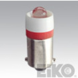 Eiko LED-120-MB-W Miniature LED Lamp, Indicator, .6A, 110-130VAC