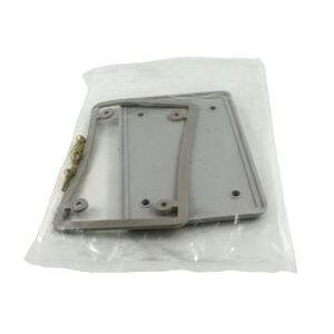 Kraloy 077611 Weatherproof Cover, 1-Gang, Type: Blank with Gasket, Non-Metallic