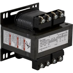Square D 9070T150D19 Control Transformer, 150VA, Multi-Tap, Type T, Open