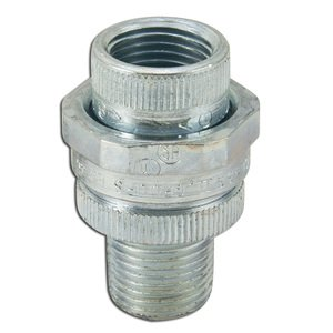 "Appleton UNY50NR Union, 1/2"", Male/Female, Explosionproof, Steel"