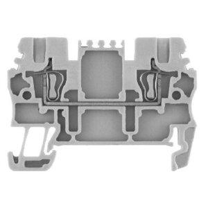 Allen-Bradley 1492-L2 Terminal Block, 15A, 300V AC/DC, Gray, 26 - 14AWG, 1.5mm