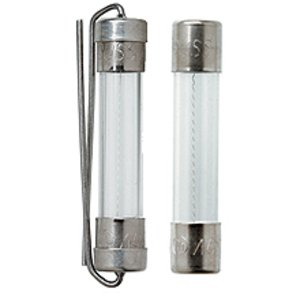"Eaton/Bussmann Series AGC-12 Fuse, 12A Fast-Acting Glass, 1/4"" x 1-1/4"", 250VAC"