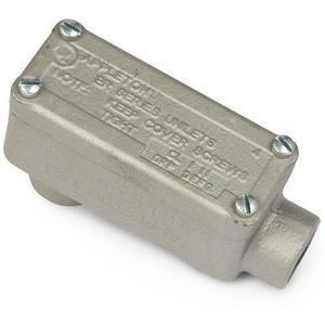 "Appleton ERLB50 Explosionproof Conduit Body, Type: LB, 1/2"", Malleable Iron"