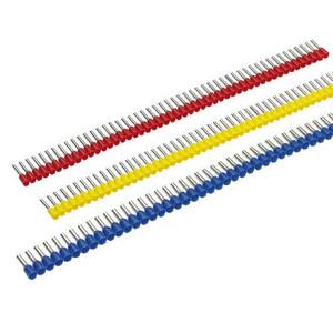 "Panduit FSD76-8-DSL8 Ferrule, Insulated, 18 AWG, Pin Length: 0.31"", Gray, Copper"